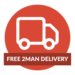 Free 2Man delivery is available on orders of £300 or more for the rest of February.