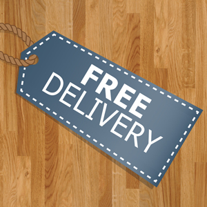 Free delivery on all timber worktop surfaces this February.