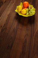 Full stave black american walnut solid wood worktops are a popular choice in Telford.