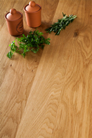 Full stave oak solid wood worktops are a popular choice in Hemel Hempstead.
