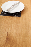 Full stave prime oak solid wood worktops are a popular choice in Wolverhampton.