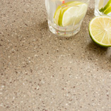 These Coffee Earthstone worktops are a practical option for any home as they require little maintenance
