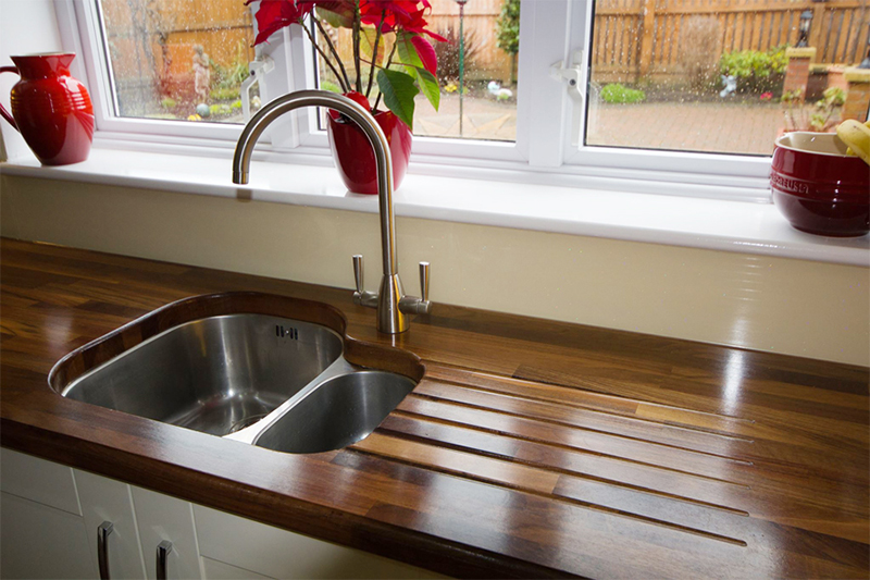 Black American Walnut Worktop Gallery
