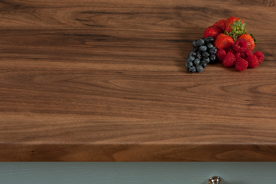 Dark Walnut Wilsonart Worktops Romantic Gallery