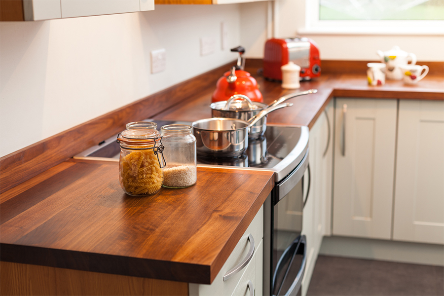 Full Stave Black American Walnut Worktop Gallery