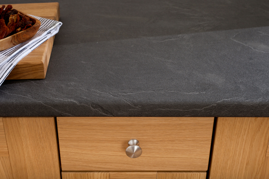Grey Slate Laminate Worktops Luna Nero Gallery Worktop