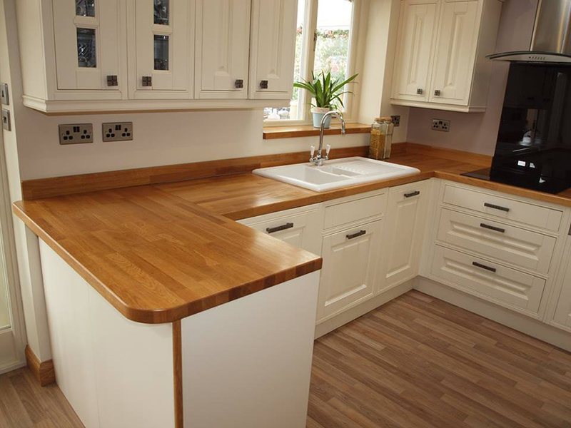 Kitchen Ikea Oak Benchtop