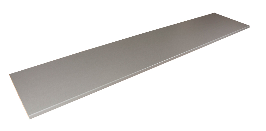 how to make stainless steel look brushed