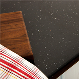Keep your Andromeda worktops looking their best by preparing food on a chopping board.