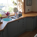 Creating a beautiful bespoke beech worktop is easy with the use of our bespoke worktop tool.