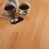 Beech worktops have a distinct speckle grain and light tone that makes them suitable for a variety of kitchen settings.