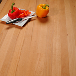 Beech worktops are one of the lighter timbers in our collection, making them suitable for kitchens lacking in natural light.