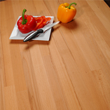 Our affordable beech worktops are light in colour and have a soft speckled grain pattern - ideal for any type of kitchen.