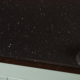 Choose our affordable black sparkle laminate worktops to give your kitchen a glossy contemporary feel.
