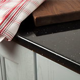 Black Sparkle worktops are both beautiful and affordable.