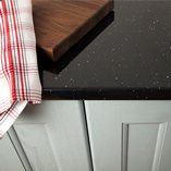 Black Sparkle worktops will suit both modern and contemporary kitchens.