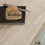 Our Capitol Pine light wood laminate worktops have a square edge profile that makes them ideally suited to a modern industrial aesthetic.