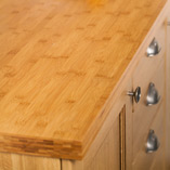 Our caramel bamboo worktops are one of the most sustainable surfaces available, as the giant bamboo used is extremely fast growing and easily replenished.