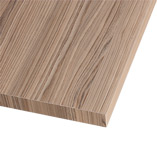 Our Cypress Cinnamon laminate worktops come with a square edge profile.