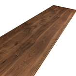 Our dark walnut Wilsonart worktops come with edging strips to finish the two short edges once the worktop has been cut to size.