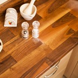 To complement our Deluxe Walnut worktops, we also sell matching upstands and plinths.