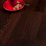 Deluxe Wenge shows off the dark timber's dark brown grain in extra wide 90mm staves.