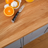 Lavish full stave worktops are supremely luxurious and stretch the entire length of your worktop.