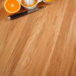 Full stave work surfaces with 40mm wide staves are a great way to flaunt the stunning features of real wood.