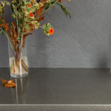 Glitter worktops are covered entirely with glitter for a sparkly and gleaming finish.
