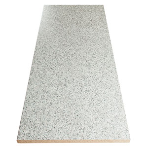 Easy to maintain, these granite effect worktops can be wiped clean with a soft cloth and warm soapy water.