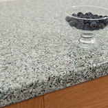Suitable for contemporary or traditional settings, our grey granite effect kitchen surfaces are a stylish option for any home.