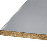 A grey laminate worktop works well in a number of different decor styles.
