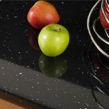 A high gloss finish means these Black Sparkle laminate worktops will be a stunning addition to your home.
