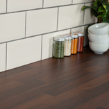Just like all of our laminate surfaces, black walnut block is easy to maintain and keep clean.