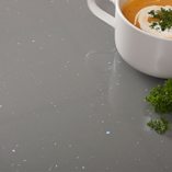 Our grey gloss laminate worktops can be used to create a luxurious look.