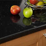 Our laminate worktops are constructed using a sturdy wooden particle board core and a decorative top layer.