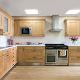 Create a light, airy, and welcoming kitchen using the White Sparkle laminate worktop.