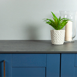 These Magma worktops have a textured matt finish for a low-maintenance look.
