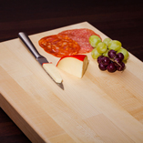 As well as maple worktops, we also sell matching maple chopping boards that come sanded, oiled and with a smooth edge profile.