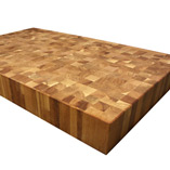 Oak End Grain Butcher Block.