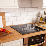 Perfect for a variety of kitchen styles, these Oak Veneer worktops are a low-cost option.