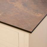 Rouille Zenith worktops can be customised to suit your home in a number of ways.