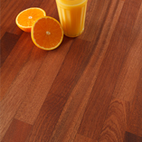 Sapele worktops have a wavy grain pattern with a uniform texture.