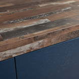 Our Sealand Pine driftwood worktop comes with a square edge finish as standard for a realistic timber look.