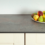 These slate-effect Zenith worktops are a sleek choice for a number of settings.