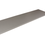 Our stainless steel effect laminate worktops are a great way to get the look of a brushed steel surface.