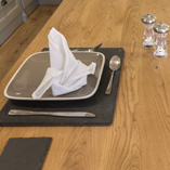 The mixture of straight and swirling grain textures in this prime oak worktop goes to show the aesthetic value of using real solid wood in your kitchen.