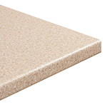 Our Taurus Beige laminate worktops and benefit from a 6mm front edge profile, creating an effective drip barrier.