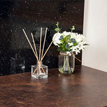 The textured, matt finish of our laminate copper worktops makes them a low-maintenance option