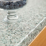 With a textured matt finish, this worktop looks just like polished granite.